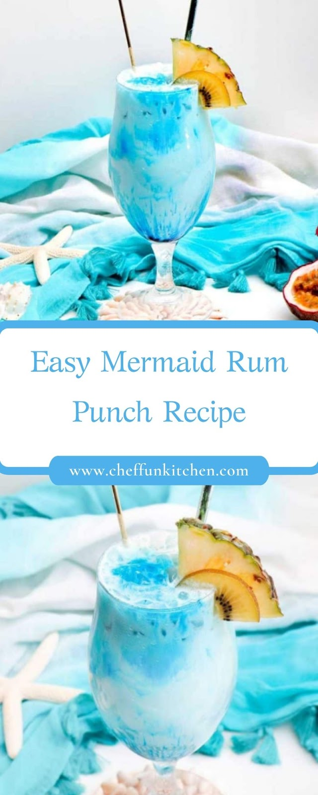 Easy Mermaid Rum Punch Recipe