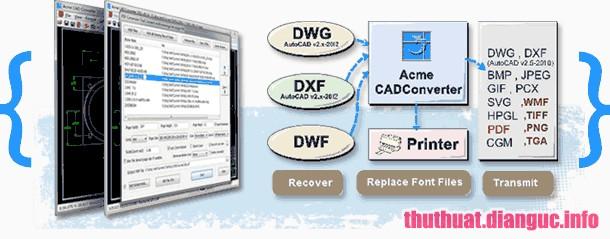 Download Acme CAD Converter 2019 v8.9.8.1491 Full Crack, phần mềm chuyển đổi tệp AutoCAD sang định dạng đồ hoạ khác, Acme CAD Converter 2019, Acme CAD Converter 2019 free download, Acme CAD Converter 2019 full key