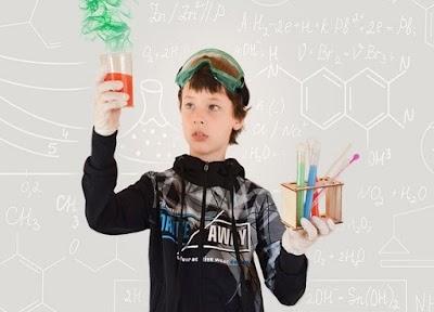 Experimentos caseros -química insólita- para hacer Manualidades