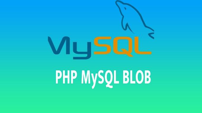 PHP MySQL BLOB
