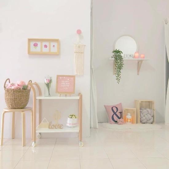 Desain interior rumah minimalis type 36 luas lahan 60