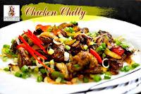 viaindiankitchen -  Chicken Chilly