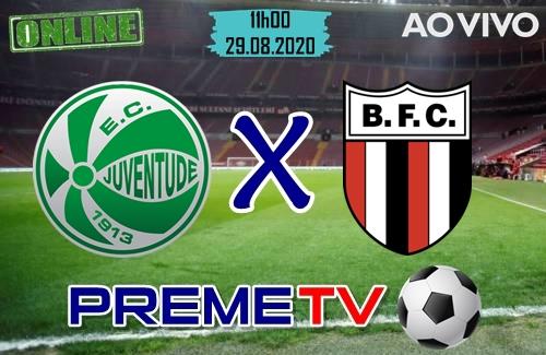 Juventude x Botafogo-SP Ao Vivo