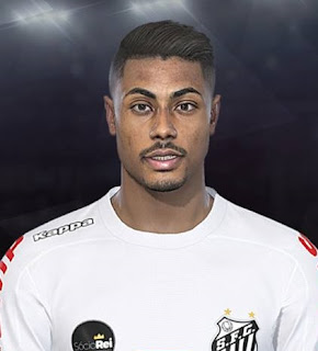 PES 2018 Faces Bruno Henrique by Lucas Facemaker
