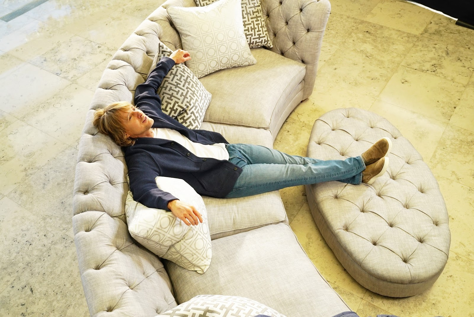 Sofology Online Support Owen Wilson Stars In Sofology S New Brand Campaign Adstasher