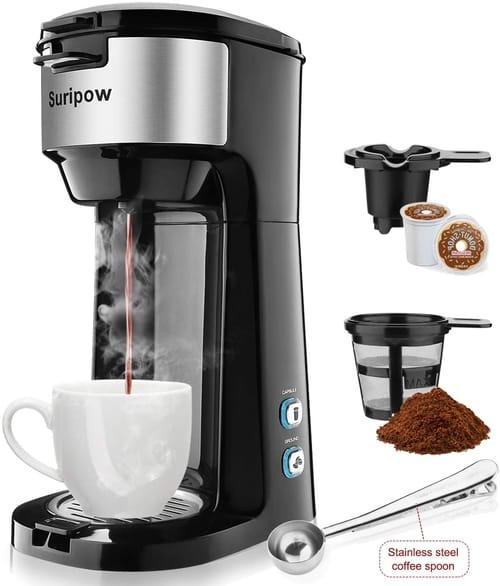 Suripow Single Serve K Cup Coffee Maker