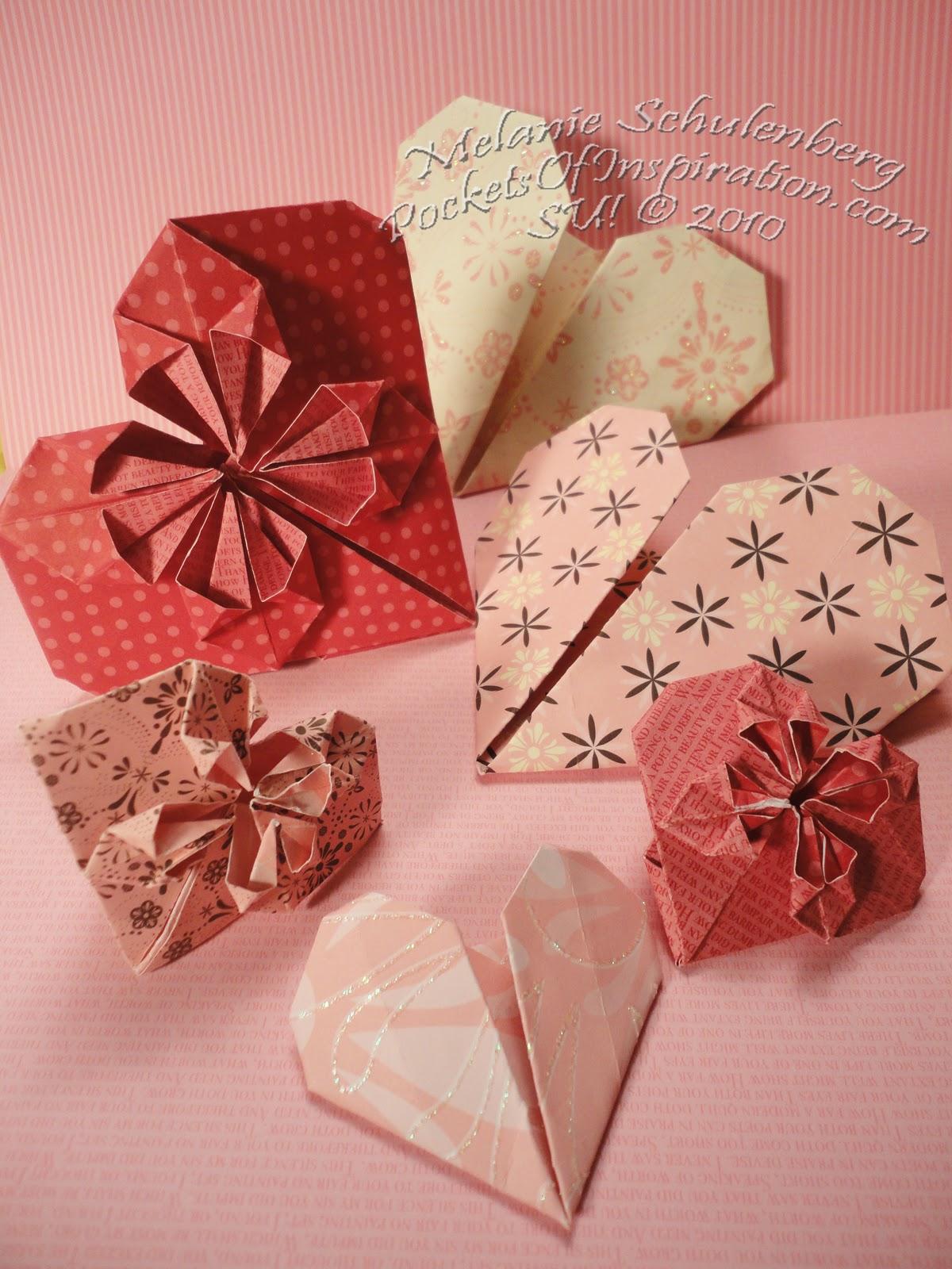 Origami Maniacs: Beautiful Origami Heart - photo#43
