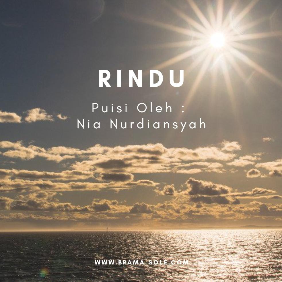 Rindu Saat Dhuha Puisi Oleh Nia Nurdiansyah