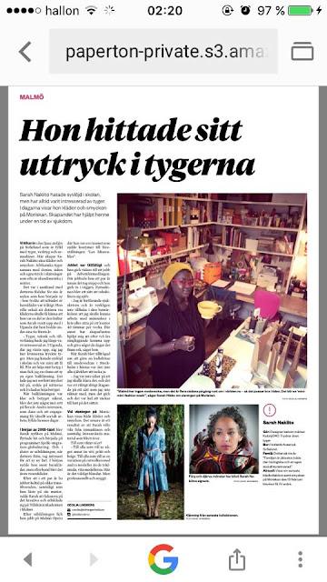 http://www.sydsvenskan.se/2017-02-08/sarah-nakiito-vill-satta-farg-pa-catwalken