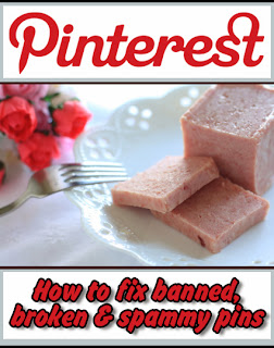 Have you ever clicked on a Pinterest link only to discover it's been banned? Don't worry, there is an easy way to fix that banned, broken or spammy link.