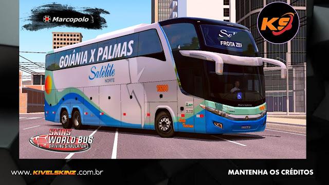 PARADISO G7 1600 LD - VIAÇÃO SATÉLITE NORTE