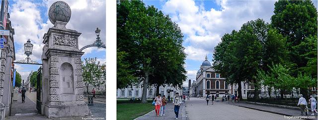 Acesso aos Museus Reais de Greenwich, Londres