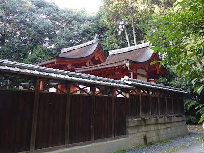 交野天神社の本殿 八幡神社の本殿
