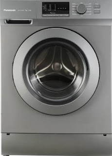 Panasonic 7 kg Fully-Automatic Front Loading Washing Machine (NA-127XB1L01, Silver and Dark Grey, Inbuilt Heater)