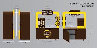 gerobak coklat