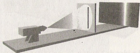 Resultado de imagen de experimento dos rendijas una rendija abierta
