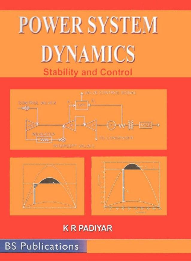 Download Power System Dynamics stability And control KR Padiyar Pdf