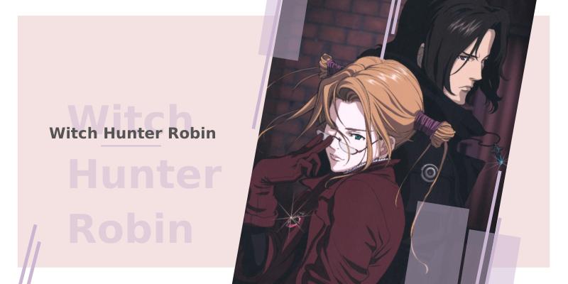 11 animes com bruxas - Runter Robin