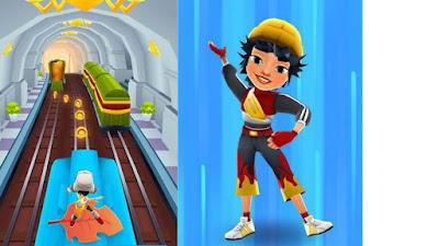 تحميل لعبة Surfers Subway مترو الانفاق نسخة مهكرة للاندرويد 2020