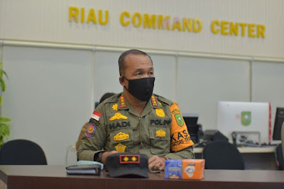 Antisipasi Penyebaran Covid 19, Pemprov Riau Buka Posko Perbatasan Saat Mudik