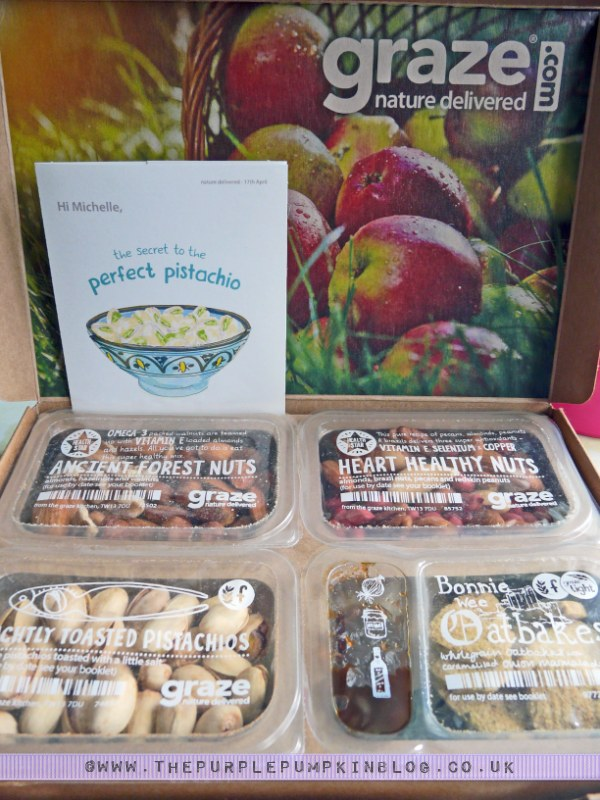 graze box - boost box review