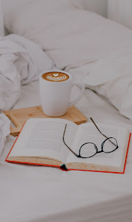 Coffee at Book Mobile HD Wallpaper