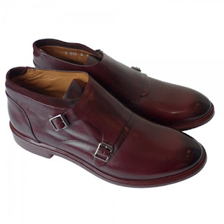 Double Strap Monk Shoes Browns