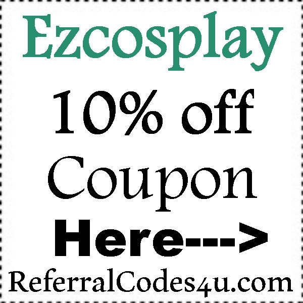 Ezcosplay Promo Code 2016-2017, Ezcosplay New Customer Coupon July, August, September, October