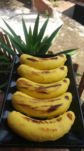 Banana Cotton Cake Homemade