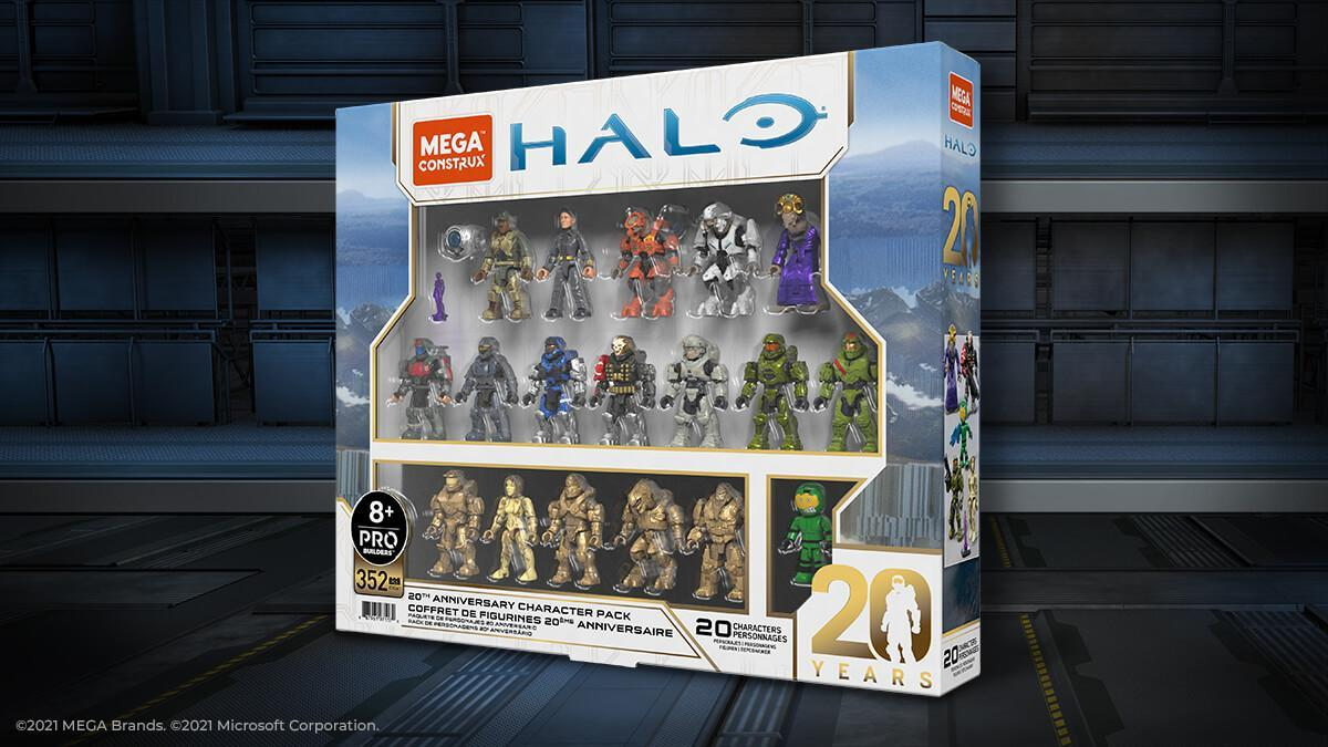 Mega Construx launches a special set for the 20th anniversary of Halo