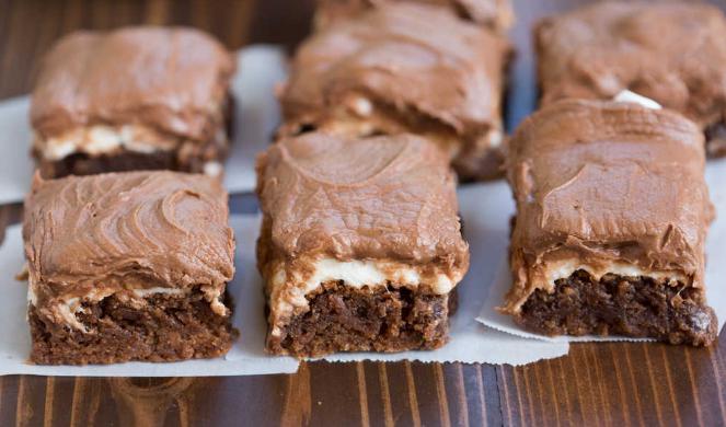 MISSISSIPPI MUD BROWNIES #dessert #brownies