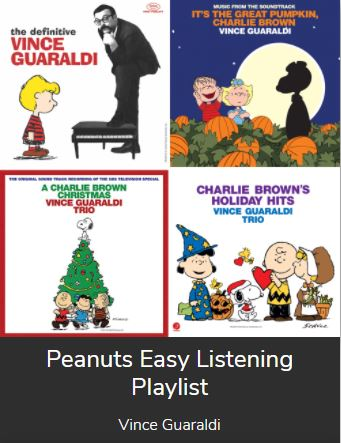 Peanuts' easy listening playlist