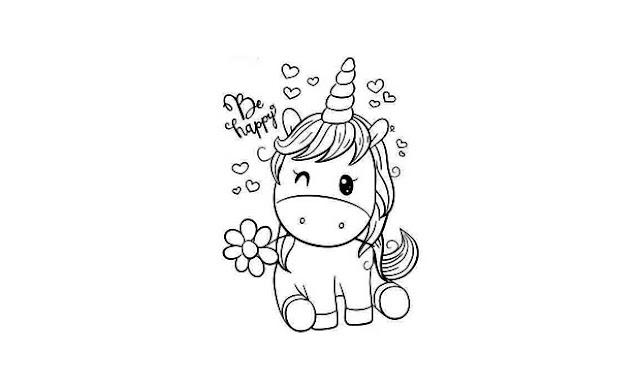 dibujar unicornios paso a paso