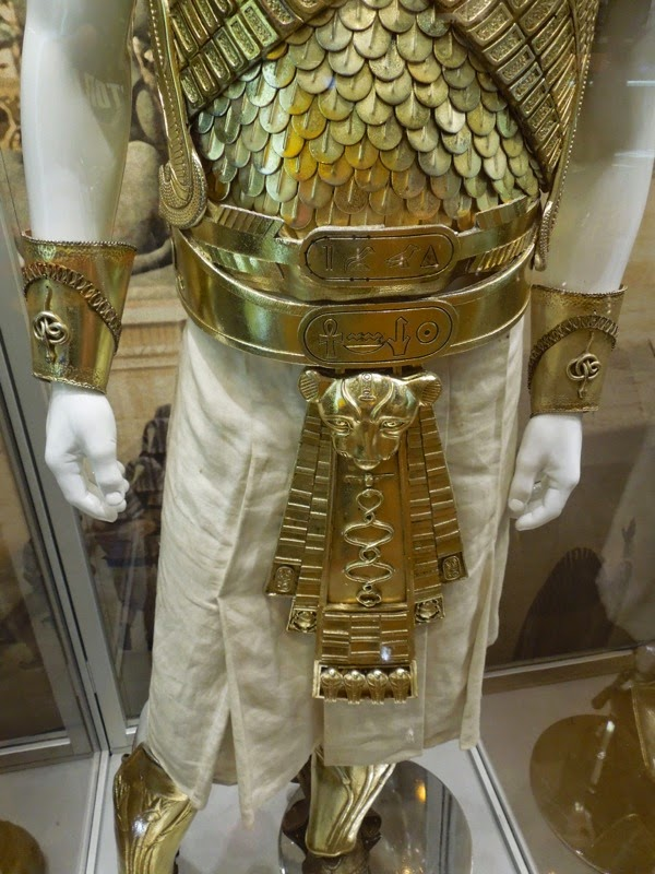 Exodus Gods and Kings Ramesses armour costume detail