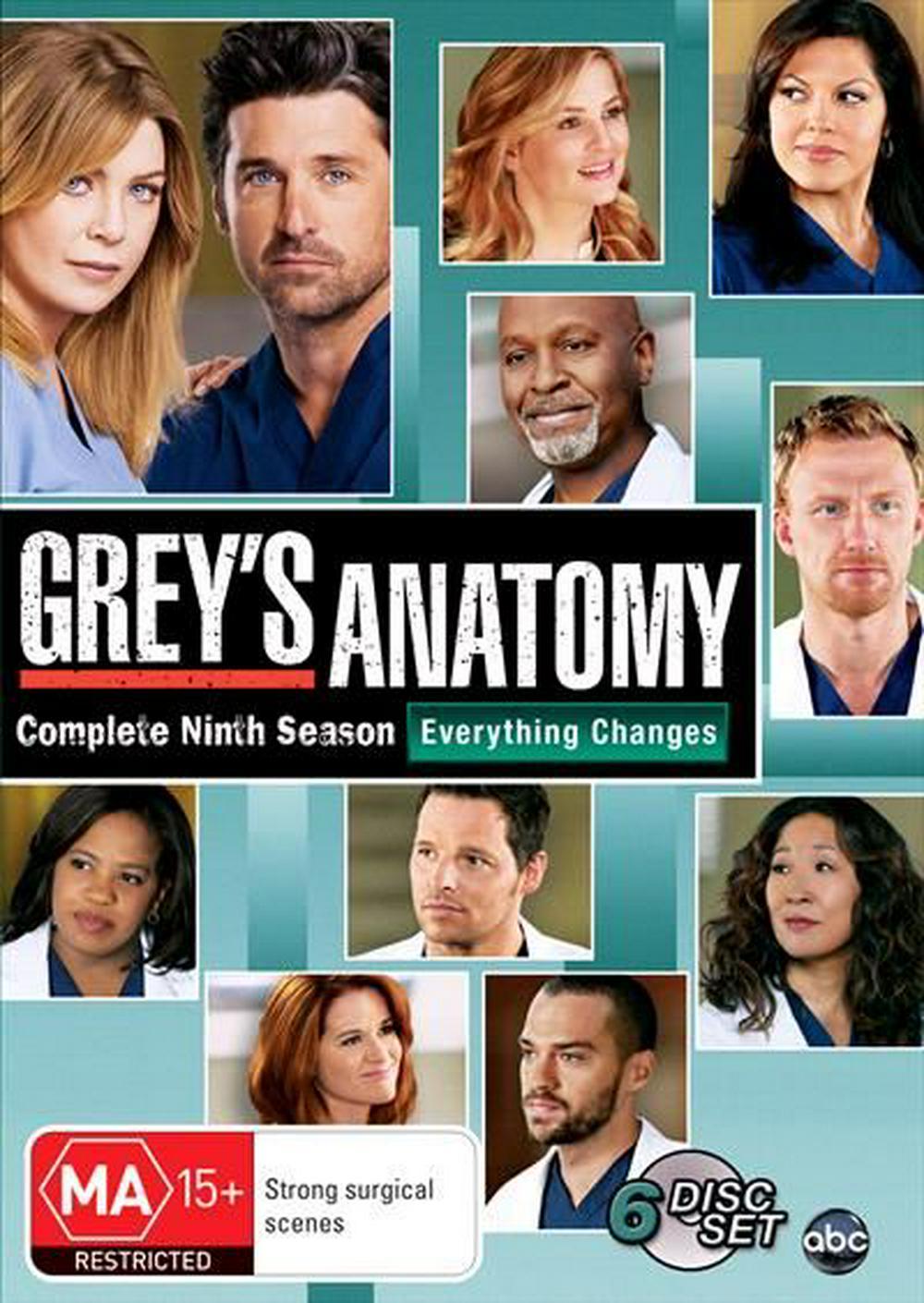 Greys Anatomy Temporada 9 Ingles Subtitulado/Latino