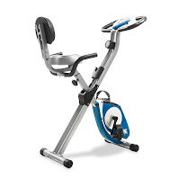 Xterra Fitness FB350 Folding Exercise Bike, upright & semi-recumbent, review features compared with FB150
