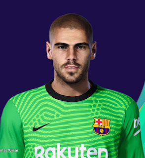 PES 2021 Faces Victor Valdes by Lucas
