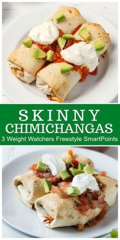SKINNY CHIMICHANGAS