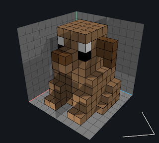 Using the Add Voxels mode with the Voxel Tool