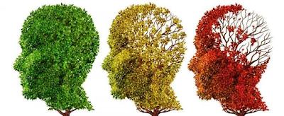 Imatge simbòlica dels efectes de l'alzheimer en el cervell