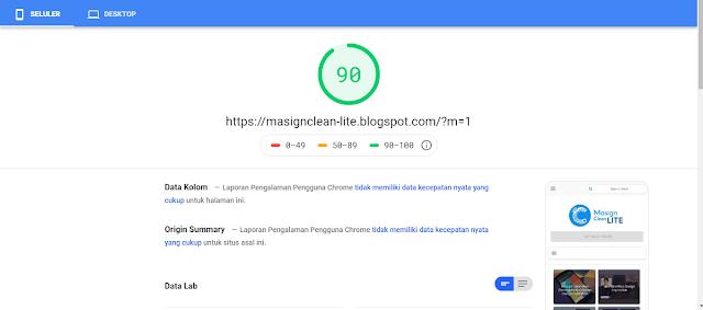 Template Masign Clean Lite Premium