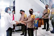 Kapolres Sangihe Berikan Penghargaan Kepada 38 Personel Berprestasi