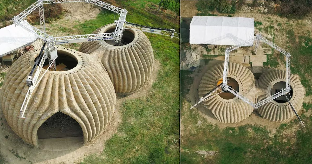 Architects In Italy Develop 3D Printed Eco-Sustainable Houses