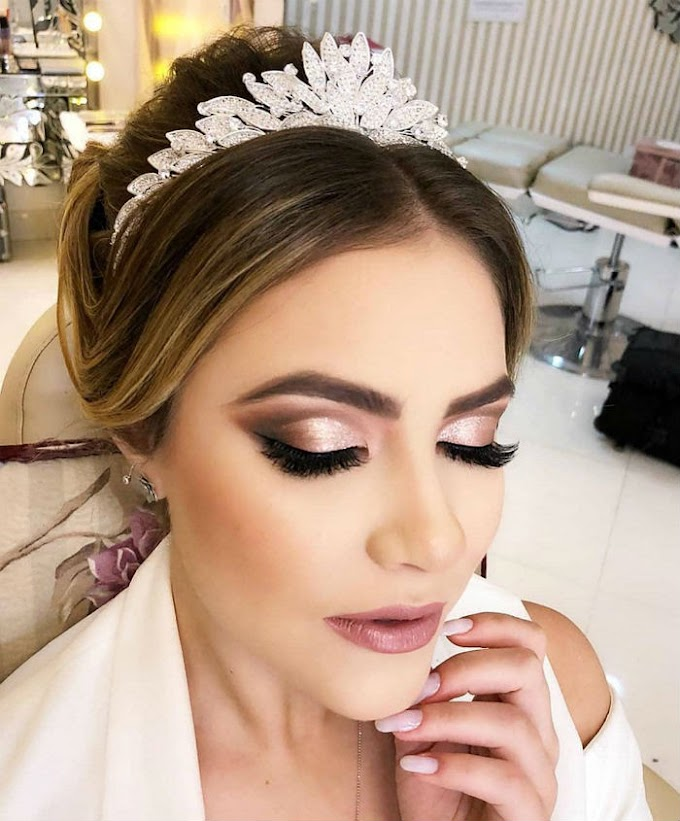 Maquiagem Para Noiva - Como fazer uma Make de Noiva Profissional Passo a Passo
