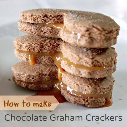 Homemade Chocolate Graham Crackers Recipe