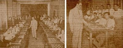 Simultáneas de Dr. Eduardo de Rafael Inglés en 1933