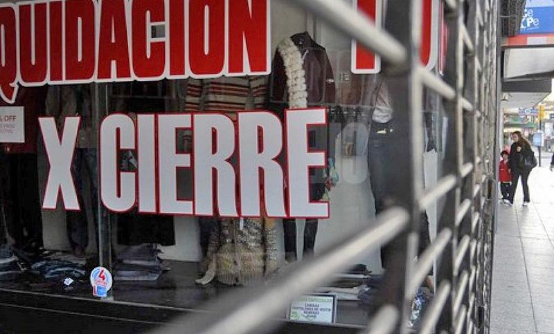 Preocupa el aumento de locales comerciales vacíos en ciudad de Buenos Aires