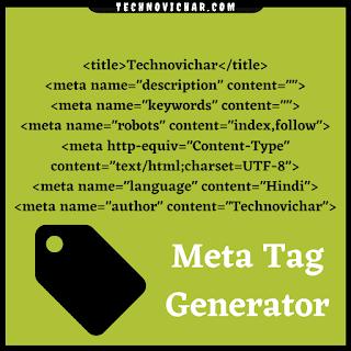 Meta_Tag_Generator