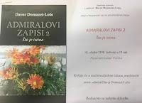Predstavljanje knjige ADMIRALOVI ZAPISI 2, Što je istina - Postira slike otok Brač Online