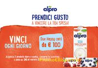 Logo Danone '' Vinci una spesa con Alpro '' : in palio buoni spesa Despar da 100 euro